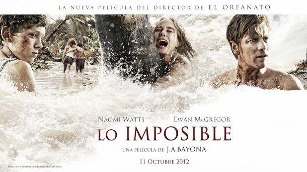 'Lo imposible', el gran estreno esperado que compite contra 'Velvet'