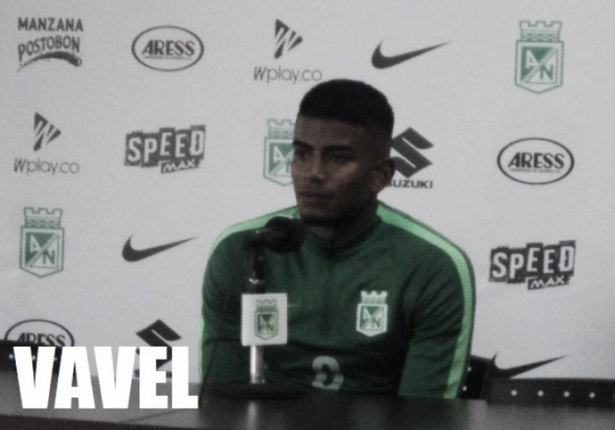 """Raúl Loaiza: """"Nacional es un equipo tan grande, todos los equipos se creen como en una final"""""""