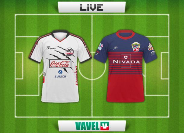 Resultado Lobos BUAP - Irapuato en la Copa MX 2015 (1-0)