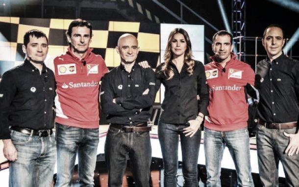 Antena 3 presenta su equipo de Fórmula 1 para la temporada 2014