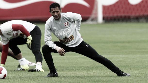 La primera práctica de la Selección Peruana