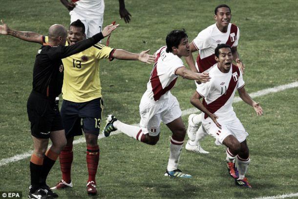 Perú y su última victoria sobre la Selección Colombia