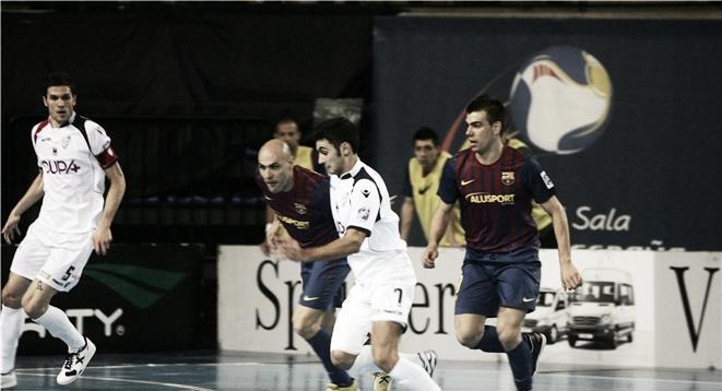 A. Lobelle de Santiago y FC Barcelona Alusport apelan al apoyo de su afición