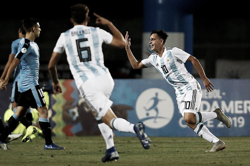 Sudamericano Sub 20: la Argentina venció a Uruguay