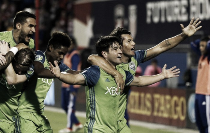 Audi 2016 MLS Cup Playoffs: Seattle Sounders hold on to move to Western Conference finals over FC Dallas