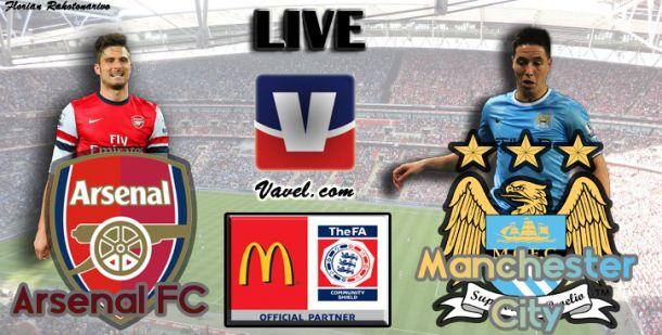 Live Community Shield : Arsenal - Manchester City en direct