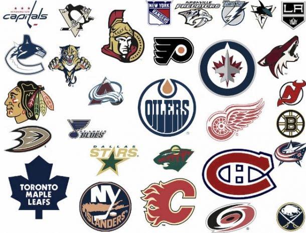 Origen de los nombres de las franquicias NHL
