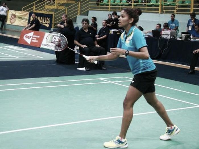 Brasileira Lohaynny Vicente é derrotada, mas escreve história no Badminton nacional