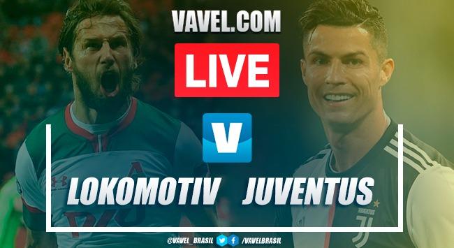 Gols e melhores momentos Lokomotiv Moscou 1x2 Juventus pela Champions League