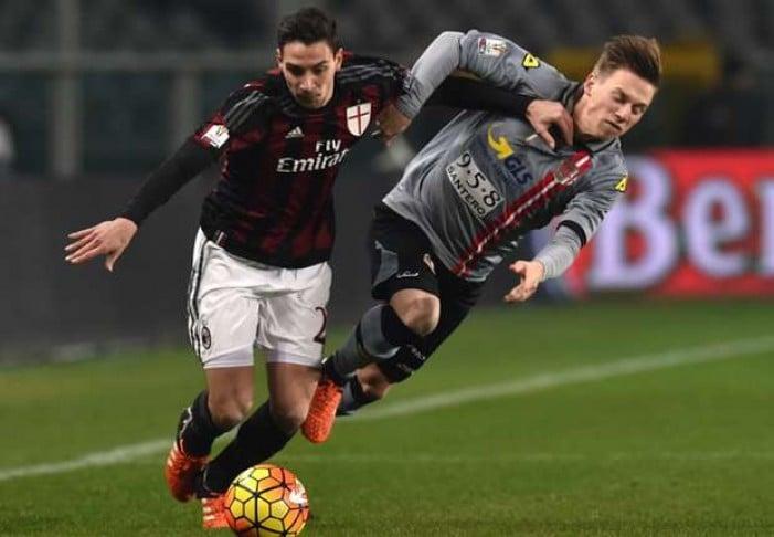 Milan - Alessandria in Coppa Italia 2015/16 (5-0): doppiette di Menez e Romagnoli, poi Balo