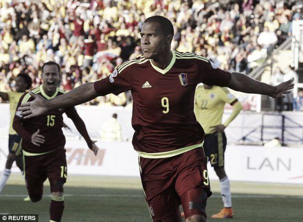 Copa América: Venezuela vence Colômbia e estreia-se com vitória pela primeira vez
