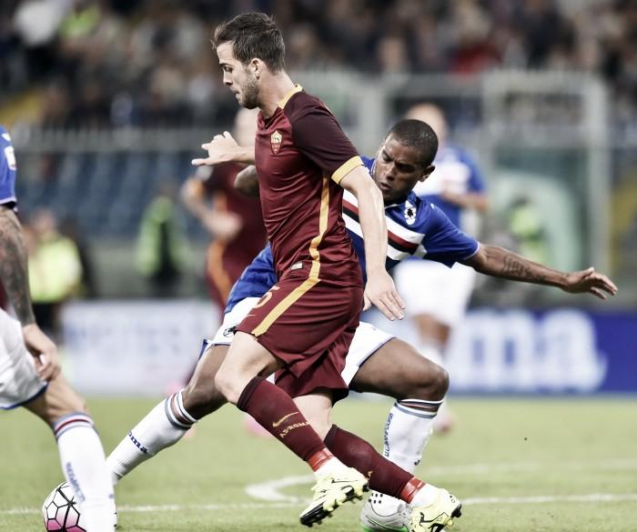 Risultato Roma - Sampdoria (2-1): Florenzi e Perotti lanciano i giallorossi