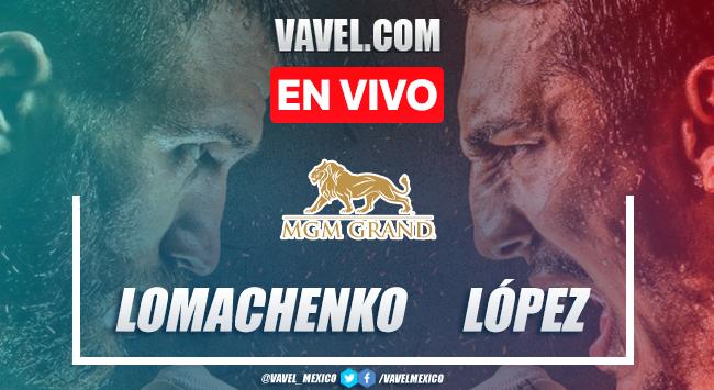 Resumen de la victoria por decisión unánime de Teófimo López vs Vasyl Lomachenko en Box 2020