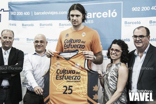 "Loncar: ""Perasovic me convenció para venir a Valencia Basket"""