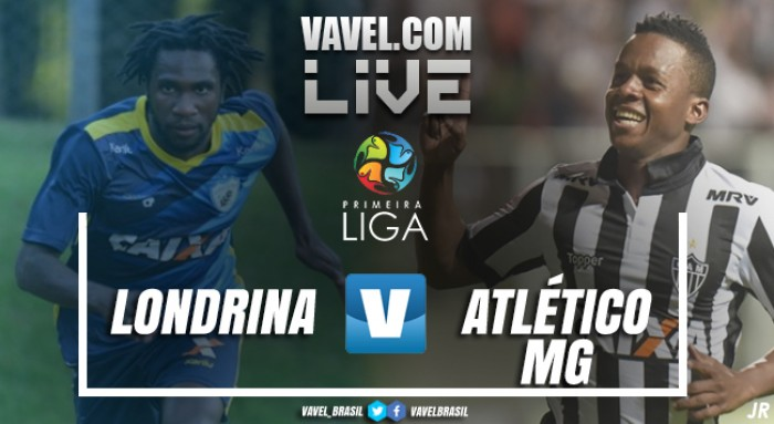 Resultado Londrina x Atlético-MG na Primeira Liga 2017 0-0 (4-2)