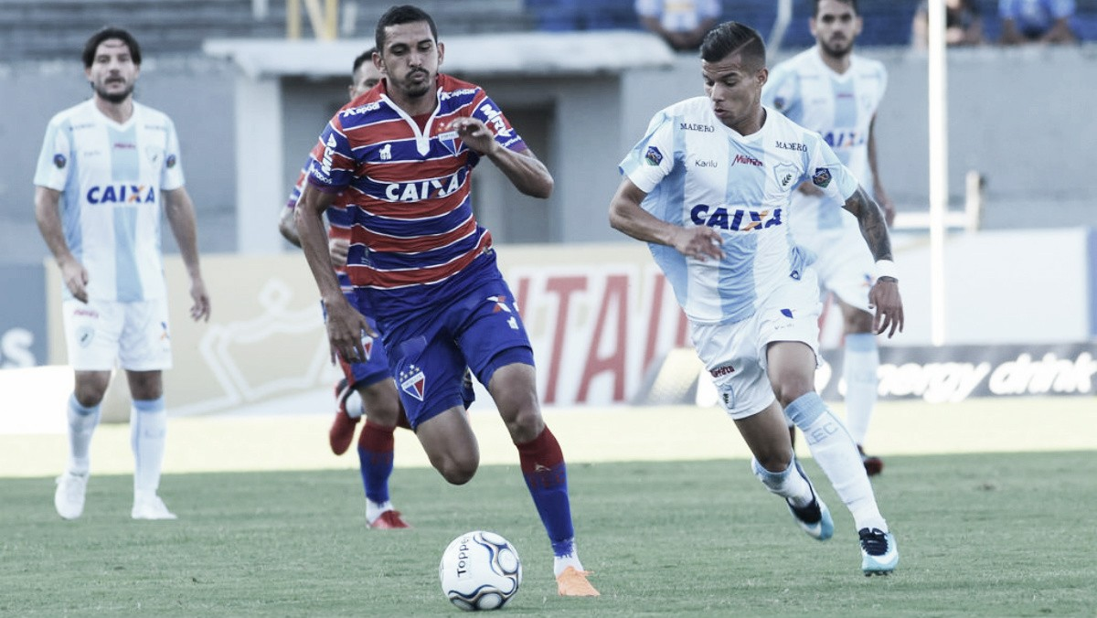 Em duelo de parte superior da classificação, Londrina fica no empate com Fortaleza