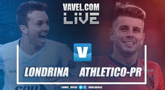 Resultado e gols de Londrina x Athletico-PR pelo Campeonato Paranaense (4-1)