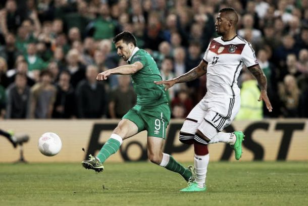 Republic of Ireland 1-0 Germany: Long comes off the bench to secure historic win