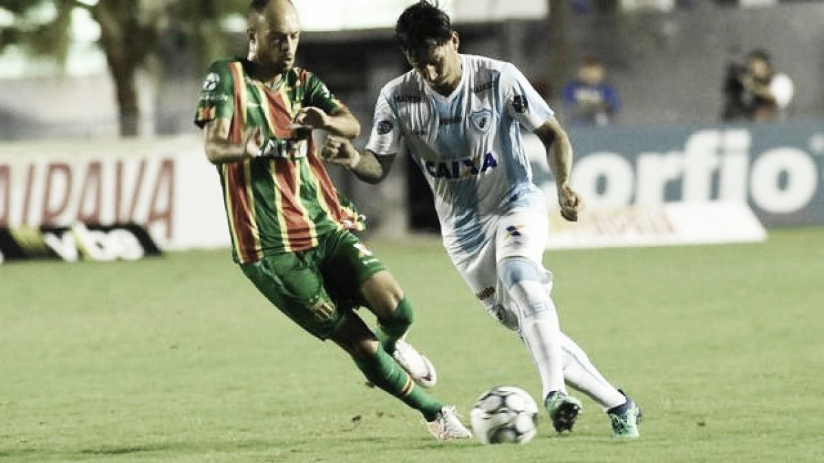 Londrina sai atrás, mas busca empate em casa contra Sampaio Corrêa
