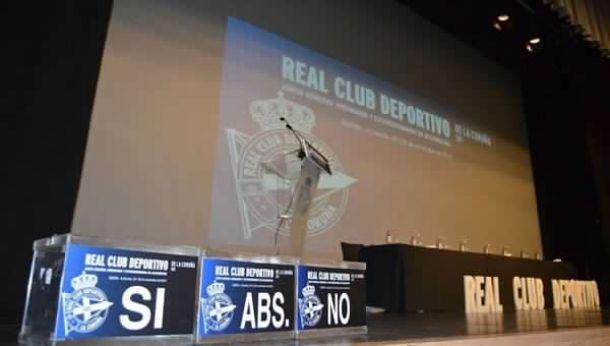 La Junta General de accionistas del Deportivo