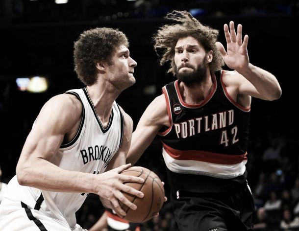 VIDEO NBA: Brooklyn batte Portland, playoff vicini