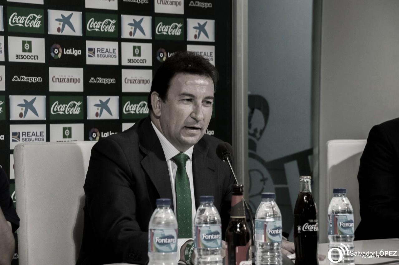"""López Catalán: """"Estamos aquí para hacer un Betis grande"""""""