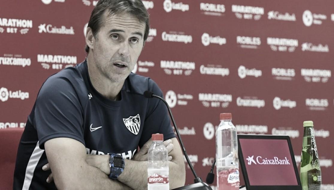 Lopetegui sobre Fernando, Emery y el Villarreal en la previa del encuentro ante el submarino