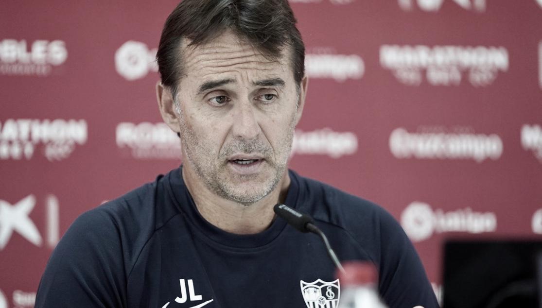 """Lopetegui: """"La Real Sociedad es de los mejores equipos de la categoría"""""""