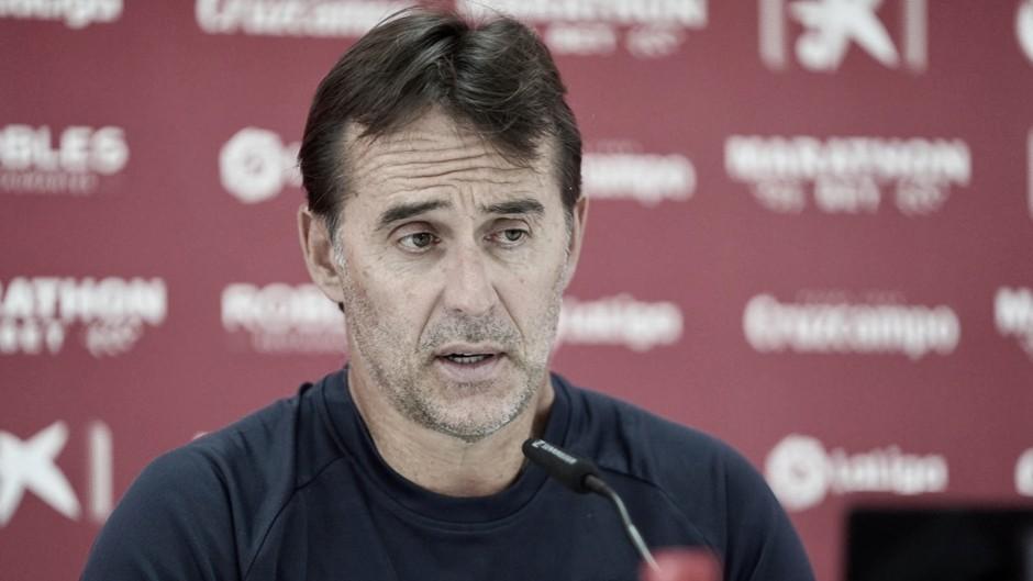"""Julen Lopetegui: """" Cada partido de la Copa del Rey es una final"""""""