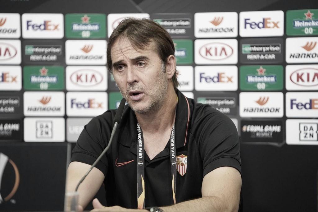"Lopetegui valoriza vitória do Sevilla ante Wolves: ""Muito satisfeito"""