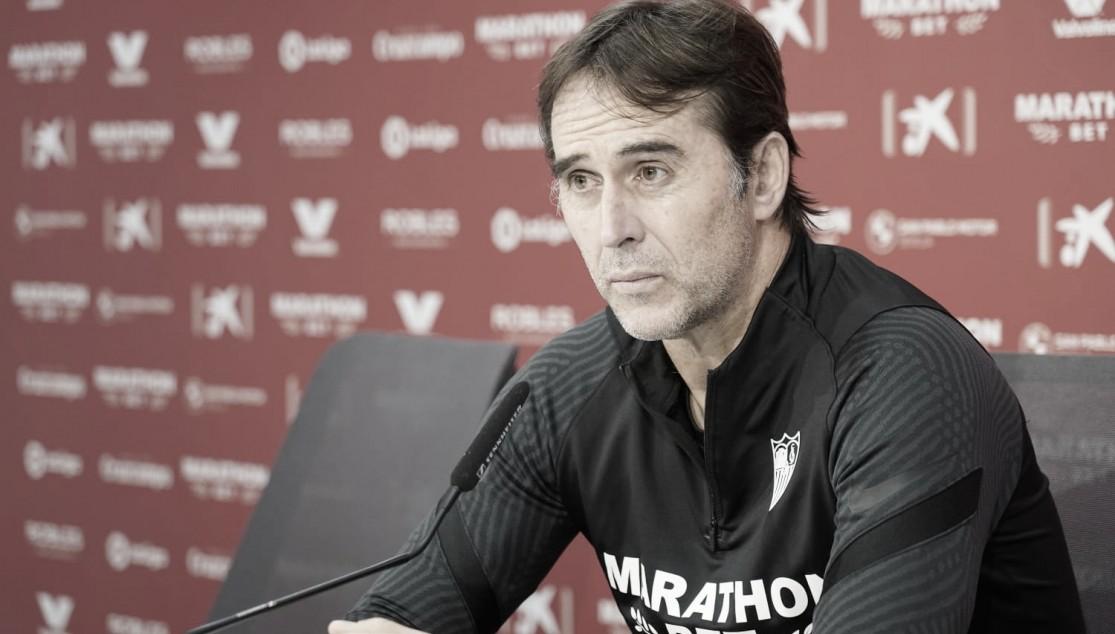 "Julen Lopetegui: ""El equipo está bien"""