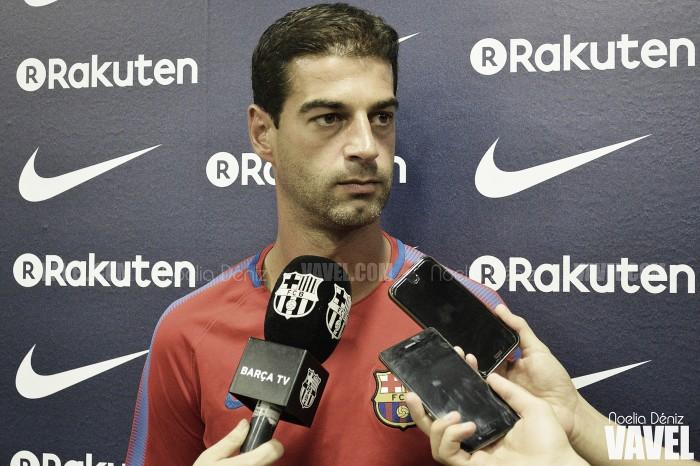 """Gerard López: """"Mis jugadores son conscientes de que la Segunda División es muy igualada"""""""
