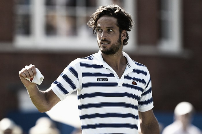 ATP Queen's: Feliciano Lopez stuns Stan Wawrinka to reach the second round in London