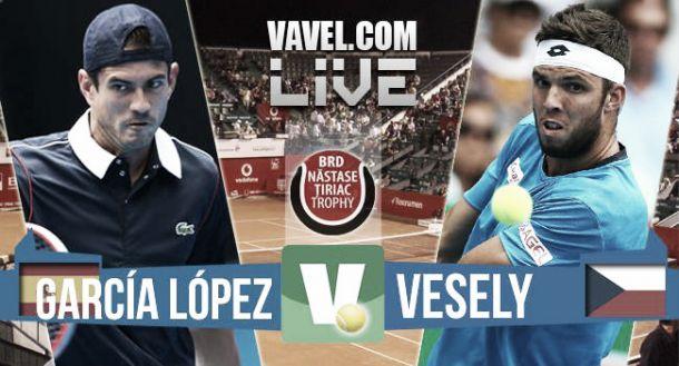 Resultado Guillermo García López vs Jiri Vesely en ATP 250 Bucarest (2-0)