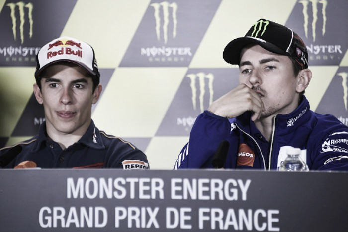 The front row speak ahead of MotoGP at Le Mans