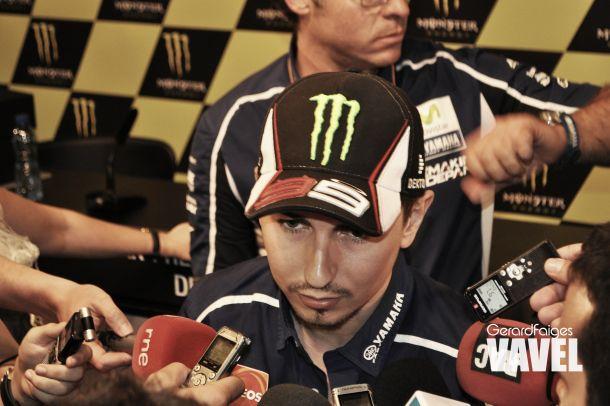 """Jorge Lorenzo: """"Estar Valentino y yo entre los tres primeros es buena señal"""""""