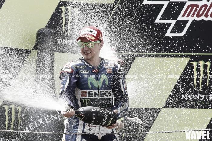 Vuelta al 2015. GP de Cataluña: Lorenzo consigue el 'póker' de victorias