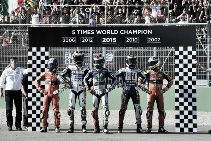 Vuelta al 2015. GP de Valencia: cinco veces Jorge Lorenzo