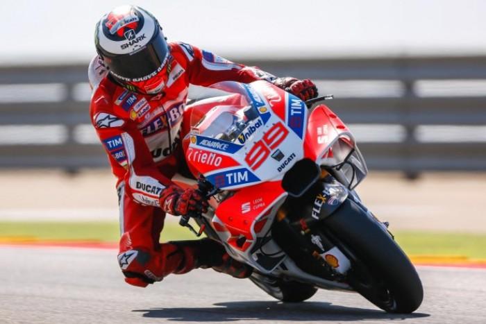"""Gp di Aragon, Lorenzo molto soddisfatto del podio: """"Mai così vicino alla vittoria"""""""