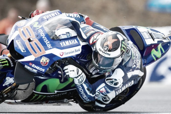 Lorenzo fastest at Brno with record breaking lap time in FP3