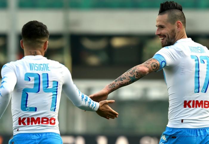 Serie A: il Napoli espugna il Bentegodi. Hamsik trova il gol n.110 (1-3)