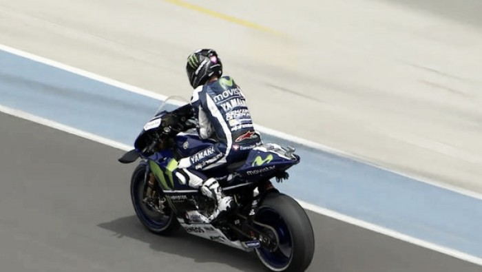 Lorenzo sets the fastest pace after day one of MotoGP free practice at Le Mans