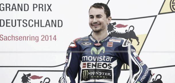 """Jorge Lorenzo: """"Después de estos tres podios me siento genial"""""""