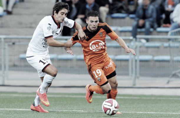 El Lorient se estrella contra Hassen