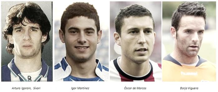Cuatro jugadores albiazules que se fueron al Athletic