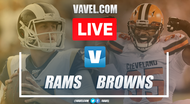 Los Angeles Rams vs Cleveland Browns: LIVE Stream Online and Score Updates (17-13)