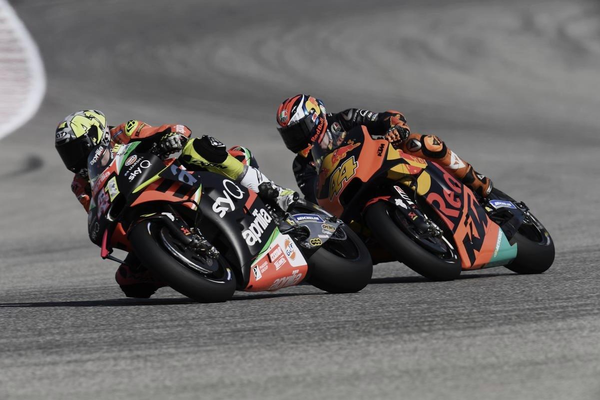 Primer test oficial de MotoGP en Misano tras tres meses de parón