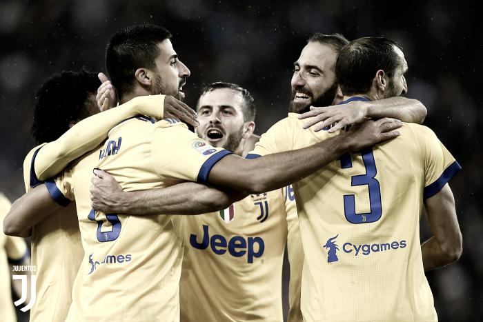Tres puntos para la Juve, tres goles para Khedira