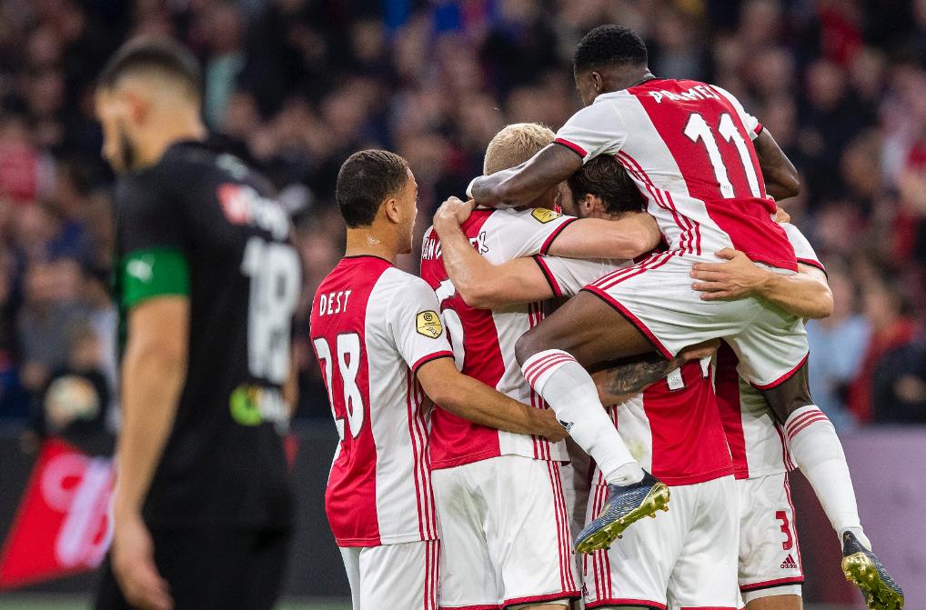 Highlights and goals: Ajax 3-0 FC Groningen in Eredivisie 2021-22