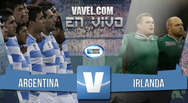 Resultado Irlanda - Argentina Los Pumas en cuartos de final del Mundial Rugby 2015 (43-20)